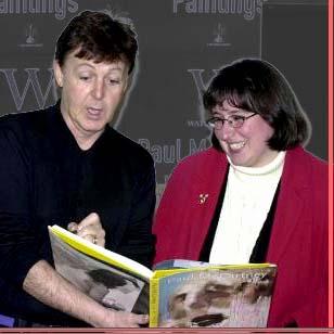 The Beatles Polska: Kate Brylska spotyka Paula McCartneya